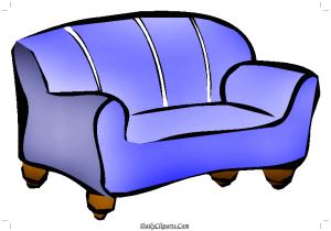 2 seat sitting sofa Icon Purple