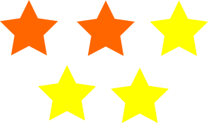 3 Up 2 Down Star Rating