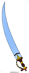 Antique Sword Clipart
