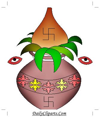 Auspicious Kalash Ritual in Hindu Wedding