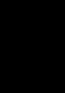 Banana Black White Clipart Icon Image