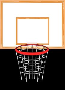 Basket Ball Goal ClipArt Icon Image