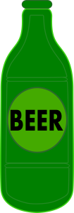 Beer Bottle Clipart Icon Image