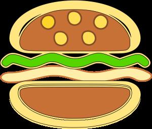 Burger Clipart Icon Picture