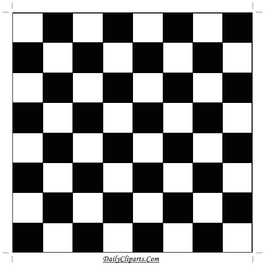 picture relating to Chess Board Printable identify Chess Board Blank Picture Each day Cliparts