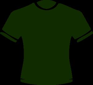 Dark Green T Shirt Picture