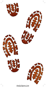 Footprint Icon for free