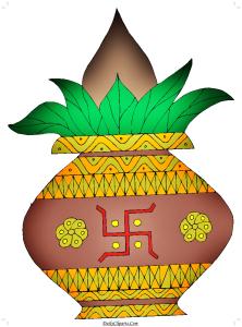 Kalash Clip Art Image Free Download