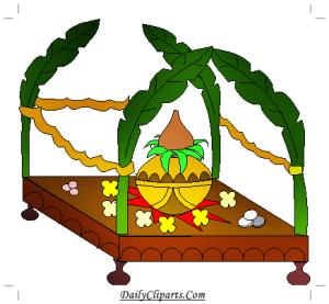 Kalash Wedding Mandap Hindu Rituals