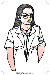 Lady Doctor Clipart Picture