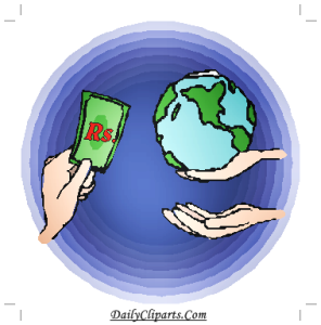 Money Worldwide Clipart Image