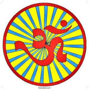 Om Hindu Clipart Image