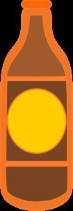 Plain Bottle Yellow Brown Color Image