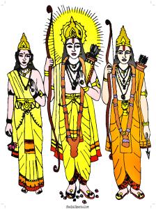 Ram Sita Lakshman Clipart Image