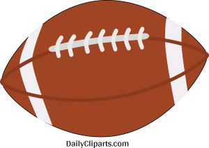 Rugby Ball Clipart Icon Image Free