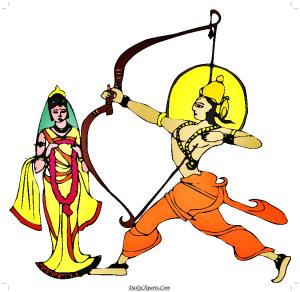 Sita Swamyvar Clipart Image