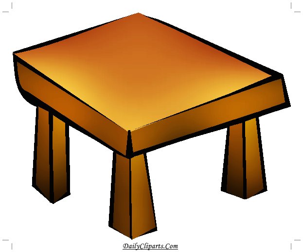Small Table Icon