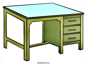Student Study Table Image
