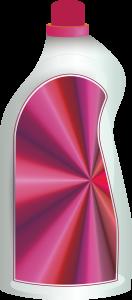 Toilet Cleaner Bottle Clipart Image