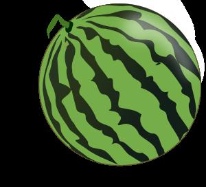 Watermelon Clipart Icon