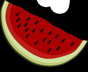 Watermelon Piece Clipart Icon