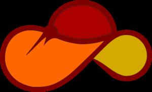 Woman Hat Line art color
