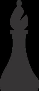 Bishop Chess Black Icon Free Download
