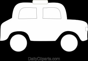 Car Coloring Clipart