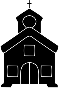 Church Black Icon Download
