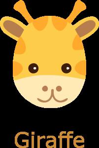 Giraffe Face Cartoon