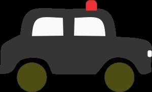 Red Beacon Car Clipart
