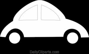 Small Car Black White No Color Image Download