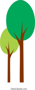 Two Tree Icon Image