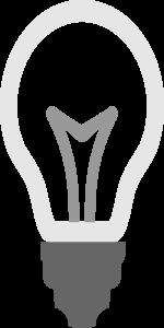 Bulb Icon Clipart