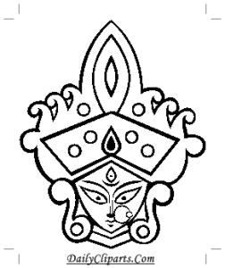 Print Durga Image on Paper