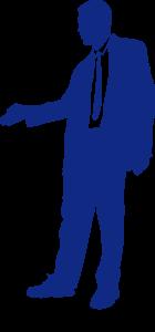 Executive hand shake posture