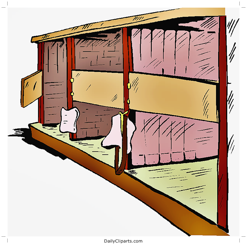 Horse Stable Clipart